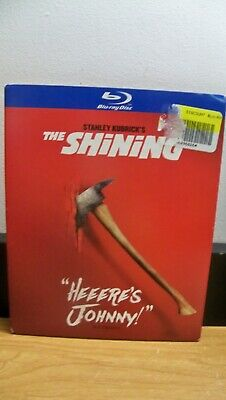 New The Shining Blu Ray W/ Se Slip Cover  Here's Johnny Free1Stcls S&H