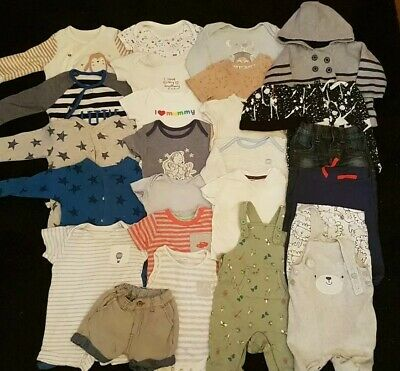 *F*A*B* Large baby boy Bundle* 3-6 MONTHS  **All You Need **