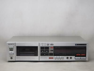 Vintage SONY TC-FX707R Cassette Deck HAS ISSUES, PLEASE READ! Free Shipping!