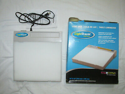 "Artograph Light Tracer Light Box 10"" x 12"" Model #225-365 NEW in Box Made in USA"
