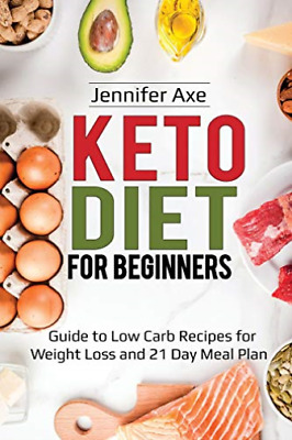 Axe Jennifer-Keto Diet For Beginners (US IMPORT) BOOK NEW