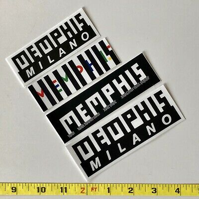 Memphis Milano Decals Stickers X 4