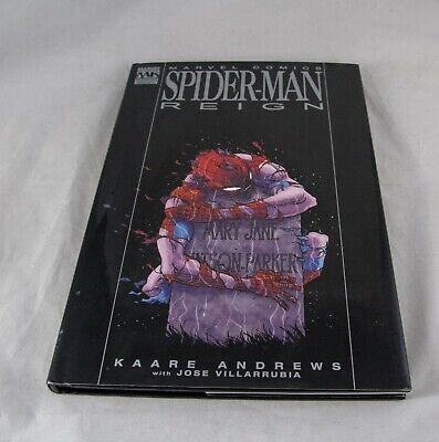 Real Photos! Spider-Man Reign by Andrews 2007 Hardcover Marvel Premiere Edition