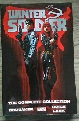 Marvel Comics Winter Soldier The Complete Collection TPB