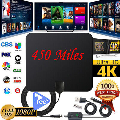 400 Mile Range Antenna TV Digital HD Skywire Antena Digital Indoor HDTV 1080P HD