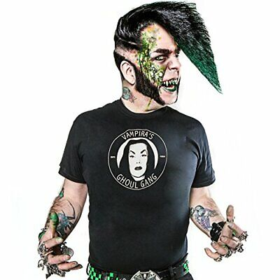 Vampira Ghoul Gang Adult Ss Tee (L) (Us Import) Acc New