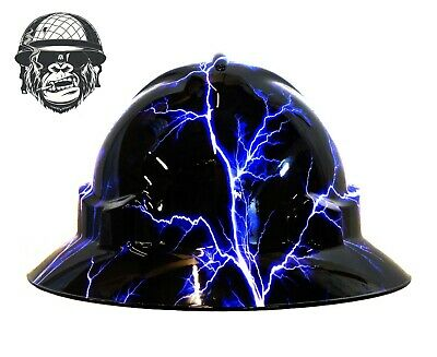 Custom Hydrographic Wide Brim Safety Hard Hats STORM WIDE