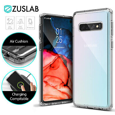 Samsung Galaxy S10 5G S10e S9 Plus Case Clear Heavy Duty Shockproof Slim Cover