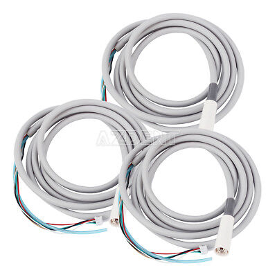 3PCS Dental LED Detachable Cable Tube Hose For WOODPECKER EMS VRN Scaler UK