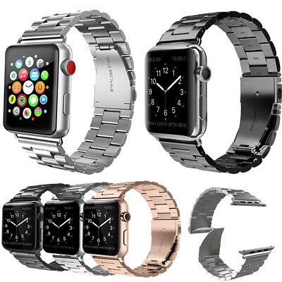 US Stainless Steel Replacement Band Strap For Apple Watch Series 4 3 2 1 38-44mm