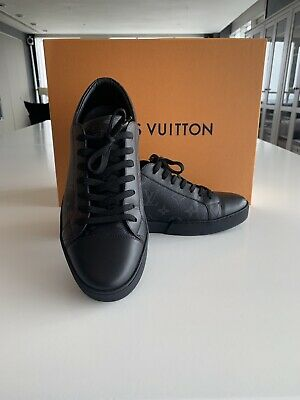c75f469d338 LOUIS VUITTON MENS - Match Up Trainer - Black - UK 6.5 (fit Like A 7)- RRP  £480.