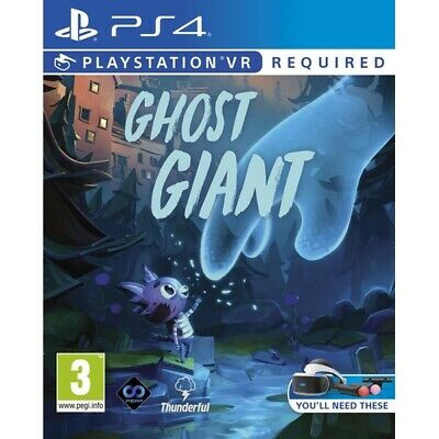 Ghost Giant PS4 Game (PSVR Required) | Playstation 4 - New Game