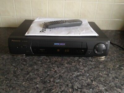 panasonic vhs player recorder with remote nv-sd236