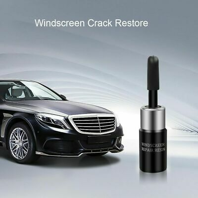 Car Windscreen Repair tool DIY Window Repair Glass Scratch Crack resin+blade+str