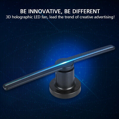 LED WiFi Hologram Projector Holographic Advertising Fan Displayer 3D Visual