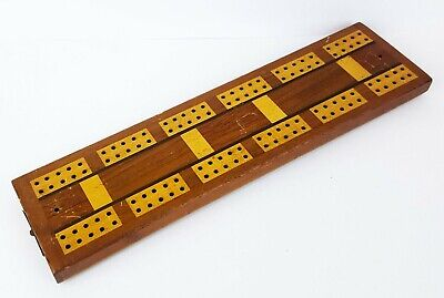 Black wood cribbage pegs x 4 replacement  Game pieces spares w134