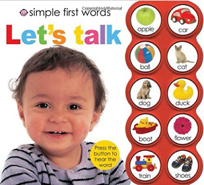 Priddy Roger/ Tainsh Robert-Simple First Words Let`S Talk (US IMPORT) HBOOK NEW