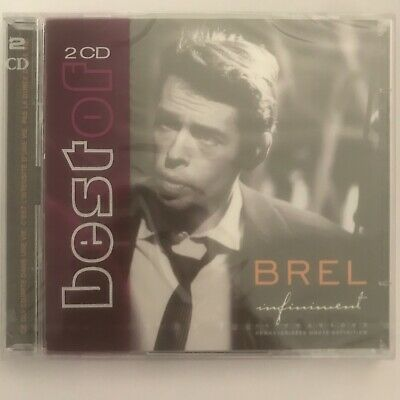 Jacques Brel Infiniment 2 cd neuf sous blister