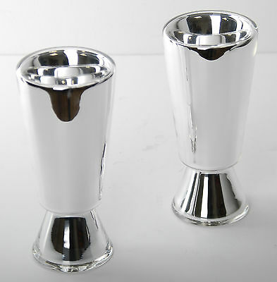 Verreum Silvered Blown Glass Mirror Drink Set 2 pcs. RRP £268 BCF54