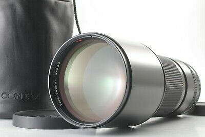 【ALMOST UNUSED】 Contax Carl Zeiss 300mm F/4 Tele-Tessar T* MMJ Lens C/Y JAPAN