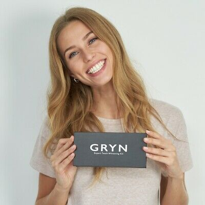 RRP £60 Official GRYN Professional Home Teeth Whitening Kit (Hi Smile Formula)