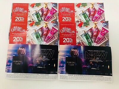 6, Bath and Body Works 20% Off Entire Order Coupons - EXP Sept 2, 2019