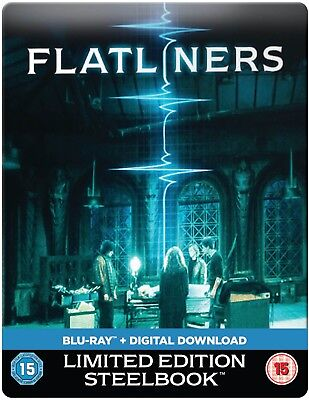 Flatliners Uk Steelbook Exclusive Limited Edition Region Free New and Sealed