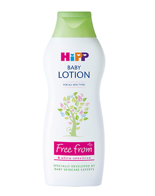 HiPP BABY LOTION 350ml. A gentle moisturiser for mum and baby skin   TOP DEAL