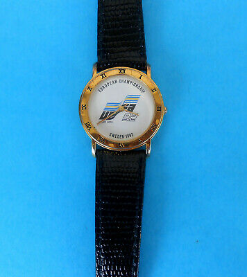UEFA EURO 1992. ( Sweden ) - official wrist watch * EXCELLENT * football soccer