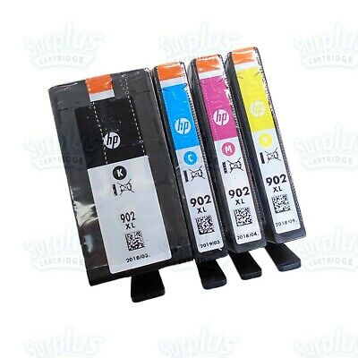 2020 Genuine HP 902XL HighYield Black & Color OfficeJet 6960 6968 6978 6970 6979