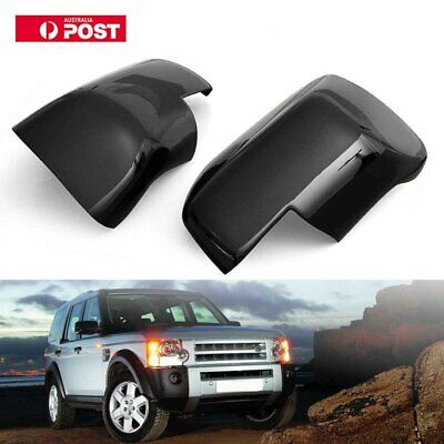 Gloss Black Wing Mirror Covers For Land Range Rover Sport Discovery 3 Au