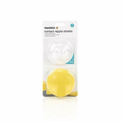 SEALED Medela Contact Nipple Shields w/Protective Case - 20mm 2pk