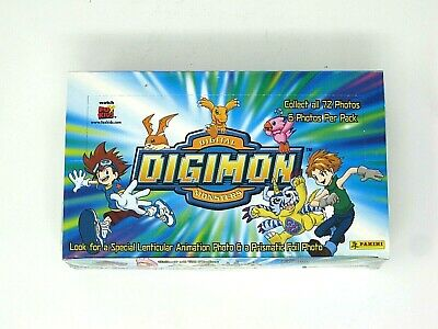 Digimon Digital Monsters Collectible Stickers Sealed Box