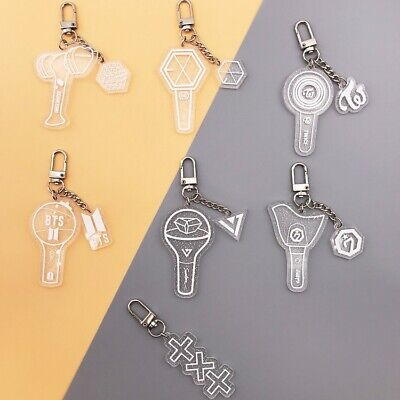 BTS TXT GOT7 Creative Acrylic Keychain Twice Blackpink Keying Bag Pendant Charm