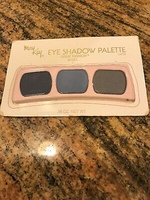 Mary Kay Eye Shadow Palette Great Fashion Blues 0476 Retired New In Pkg Rare