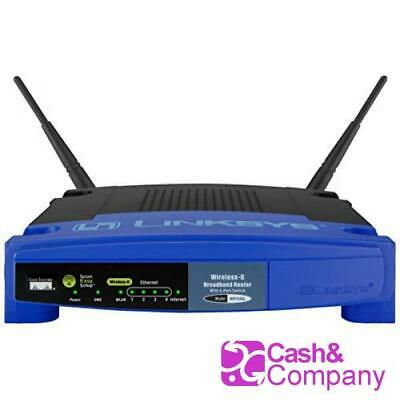 LINKSYS WiFi Router 54 Mb WRT54GL 8458