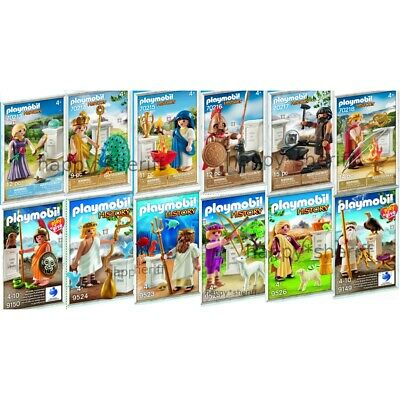Playmobil All 12 Greek Gods 9149 9150 9523 9524 9525 9526 70213 to 70218 No Box