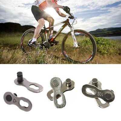 2Pcs Portable Bicycle Chain Master Link Joint Connector 10 Speed Quick Clip Fp