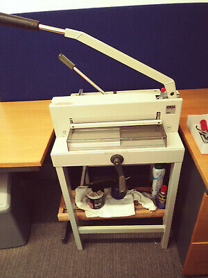 Guillotine & Stand, Ideal 3905 manual guillotine,1/2ream cutting,A3 & A4 Used