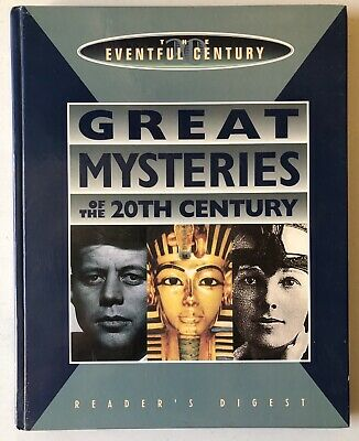 Rare - Great Mysteries of the 20th Century By Reader's Digest Hardcover 1996