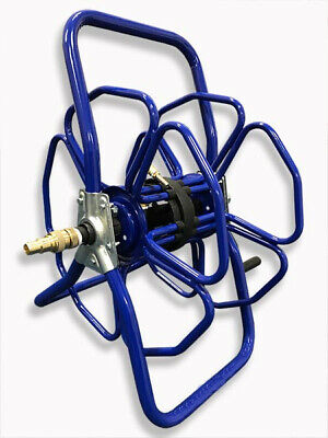 Blue Metal Hose Reel - Only Reel