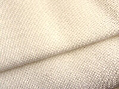 Ivory cream Lugana 25 Count Zweigart even weave fabric - various size options