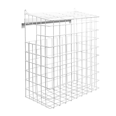 Letterbox Cage | No Screws Required | Mail Catcher | Large Post Catcher | M&W