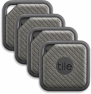 Tile Sport Key Finder. Phone Finder. Anything Finder (Graphite) - 4 Pack