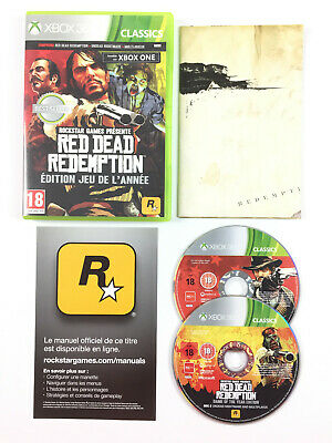 Red Dead Redemption Edition jeu de l'année Game of The Year GOTY Xbox 360 Jeu