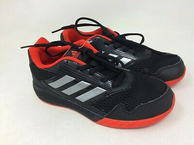 New w/defect Youth Adidas BA7422 AltaRun Running Shoes Black/Red 15M