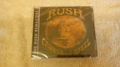 RUSH : Caress of Steel (1975) : Remasters Series CD (New & Sealed)
