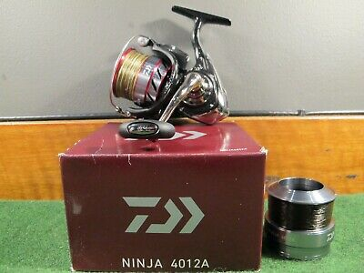 871f1032d38 daiwa ninja 4012 a front drag match reel used course match fishing tackle  gear 1