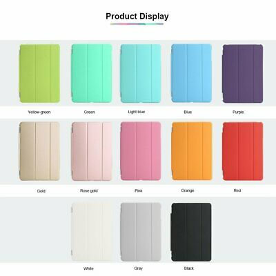 Smart Cover Case Magnetic Slim Leather For NEW iPad 5 4 3 2 Mini Air Pro9.7/10.5