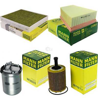 Mann-Filter Inspection Set Kit VW Polo 9n_ Seat Ibiza V Coupé Sport 6J1